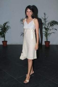 Seema Rahamani at the premiere of 'Love, Wrinkle-Free' at PVR, Phoenix.