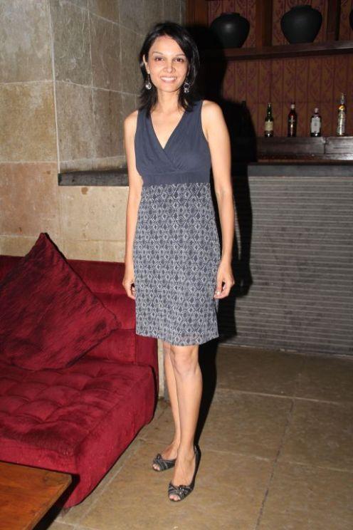 Seema Rahamani at the Salsa Nite for the film 'Love, Wrinkle-Free'