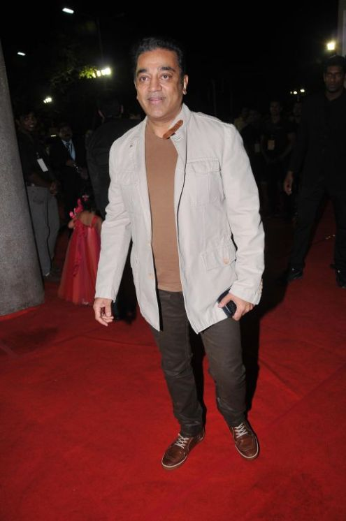 Kamal Hassan at the Red Carpet of '59th !dea Filmfare Awards 2011' (South) on 8th July at Jawaharlal Nehru indoor stadium, Chennai.