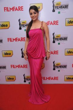 Nisha at the Red Carpet of '59th !dea Filmfare Awards 2011' (South) on 8th July at Jawaharlal Nehru indoor stadium, Chennai.