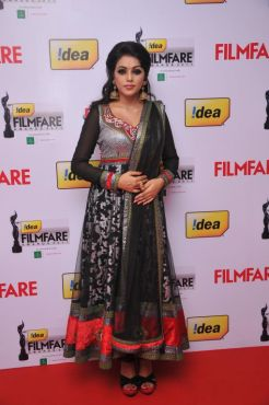 Poorna at the Red Carpet of '59th !dea Filmfare Awards 2011' (South) on 8th July at Jawaharlal Nehru indoor stadium, Chennai.
