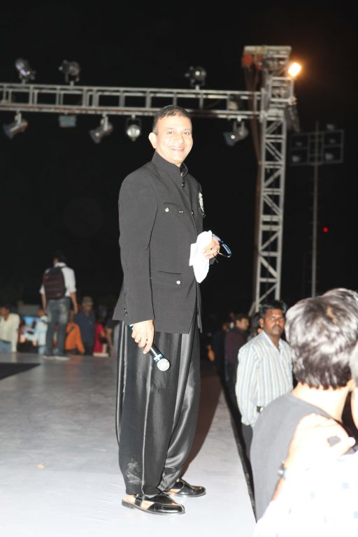 10 - Show Director Prasad Bidappa for designer Asif Shah's collection in Indore at Sayaji Palace.
