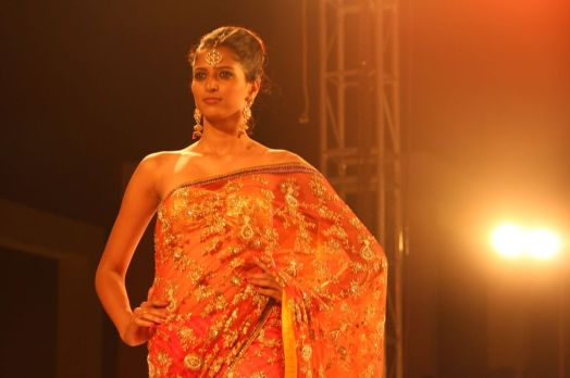 29 - Models at the Finale of Asif Shah's Fashion Show in Indore at Sayaji Palace.