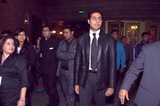Actor Abhishek Bachchan at the TopGear Magazine India Awards 2012