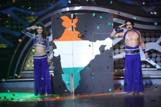 Amar and Charlie during their performance on Nach Baliye-5 Catch them at 9 pm this weekend on STAR Plus