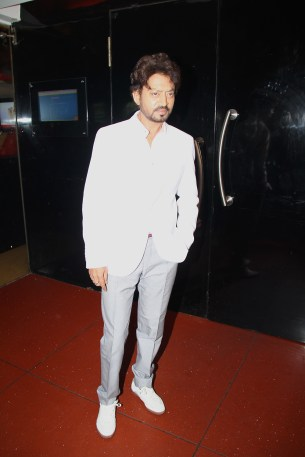 Irrfan Khan at the First Look Poster and Theatrical Launch for D-Day