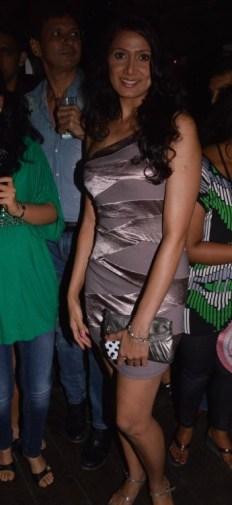 06-Actress Manjari Phadnis@ The Global Party,Hawaiian Shack,Bandra