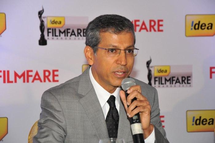 Mr. Tarun Rai at the '60th Idea Filmfare Awards 2012' (South) Press conference.