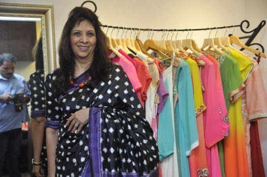 07-Indu Shahani-Ex Sheriff,Mumbai@Zanaaya Couture Store Launch,Kemps Corner