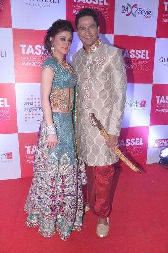 07 Shefali Zariwala & Parag Tyagi @ Tassel Fashion & Lifestyle Awards 2013