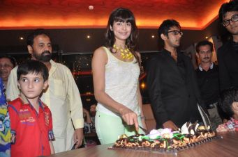 Pooja Batra at the launch of Ovais & Uzair Queraishi's Yoko Sizzlers..,,,.