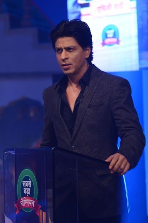 Shahrukh Khan on Diya aur Baati Hum when he came for the promotion of Chennai Express