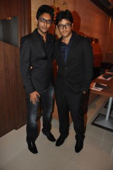 Uzair & Ovais Queraishi at the launch of their new venture of Yoko Sizzlers
