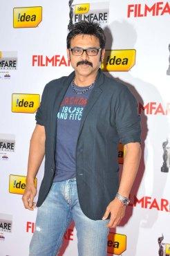 Venkatesh on the Red Carpet of '60the Idea Filmfare Awards 2012(South)