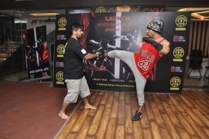 10. Prateik for MMA @ Gold's Gym Bandra