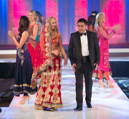 Indian Entrepreneur Style Icon Award winner Mr. Waahiid Ali Khan walked the ramp after the AGF show in Las Vegas
