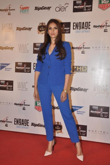 Aditi Rao Hyadri at the '6th TopGear Awards 2013' at Sofitel, Mumbai.2
