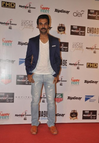 Rajkummar Rao at the '6th TopGear Awards 2013' at Sofitel, Mumbai.
