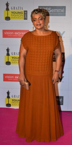 Celebrities walked the Red Carpet at the Grazia Young Fashion Awards 2014 at the Leela, Mumbai.11