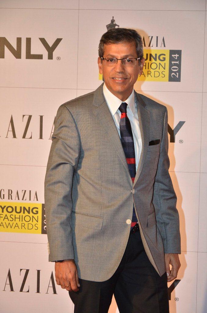 Mr. Tarun Rai (CEO, World Wide Media) walked the Red Carpet at the Grazia Young Fashion Awards 2014 at the Leela, Mumbai