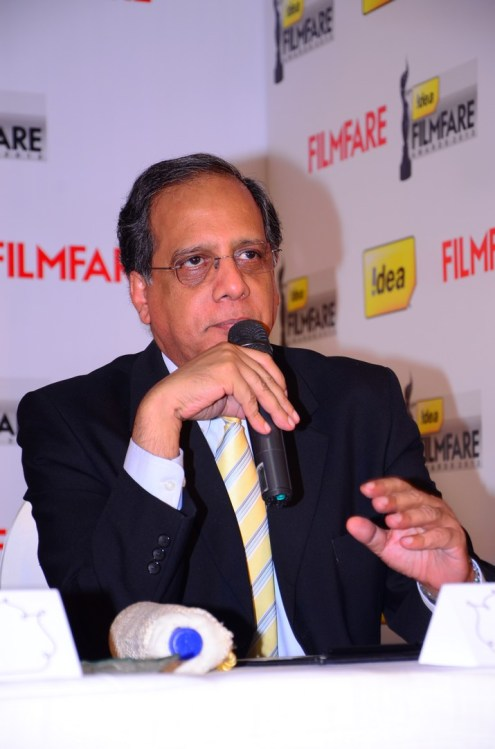 Rajat Mukarji (CCAO-Idea Cellular) at the '61st Idea Filmfare Awards 2013' (SOUTH) Press Conferenece at Taj Krishna.