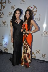 09 Koyal Rana Ms India World along with Jhataleka Malhotra Ms India International at Pria Kataaria Puri Store Launch Event