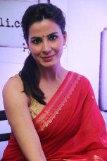 Actress Kirti Kulhari launched the kalamwali.com 'a world of words'.2