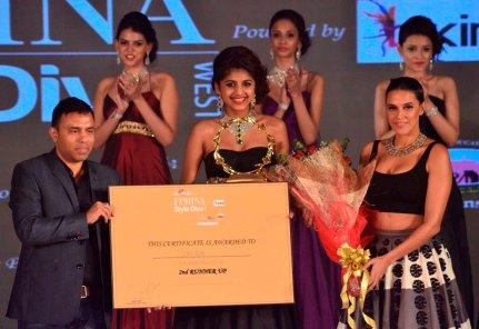 2nd Runner up Neelam winner of 'Femina Style Diva 2014'