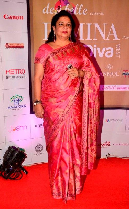 Dr. Madhu Chopra (Priyanka's Mom) at the 'Femina Style Diva 2014' finale