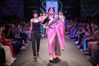 Myntra Fashion Weekend 2014 Day 3 - Glam Star Mandira Bedi presents Joi de Virve Collection with Guthi (10)