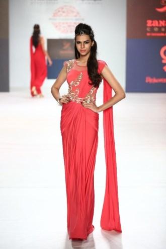 07 Model in Designer Shouger Merchant Doshi's creation @ Pune Fashion Week Season V