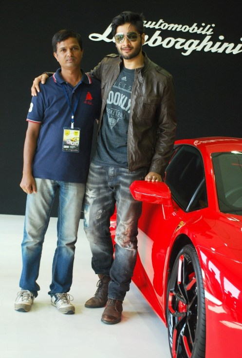 Chandrakant & Ali Fazal at the 'Autocar Performance Show 2014'.