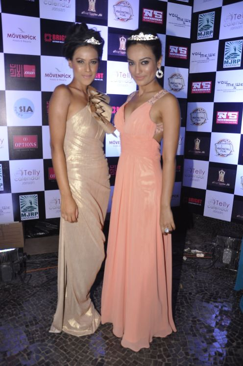 Nia Sharma with Surbhi Jyoti