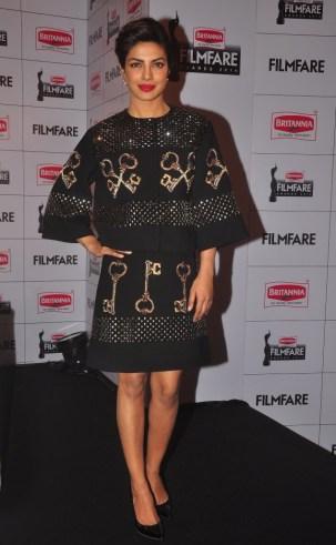 Priyanka Chopra at the Press Conference of '60th Britannia Filmfare Awards 2014' at JW Marriot, Mumbai.2