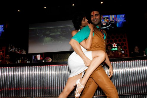 Sandip dancing with wife jesse1