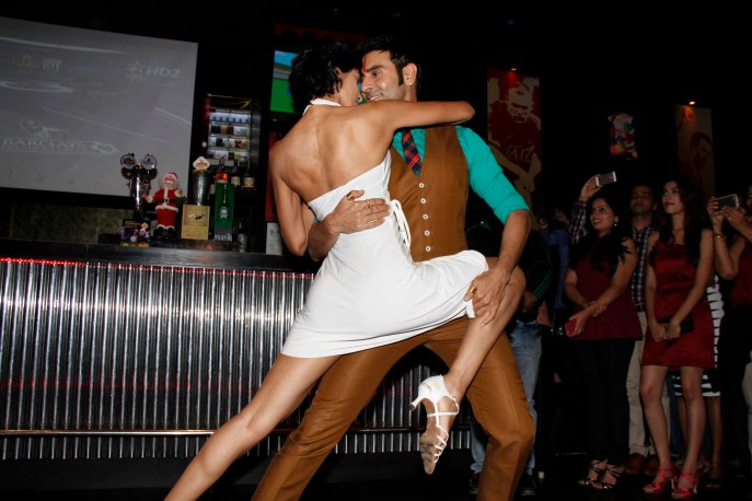 Sandip dancing with wife jesse4