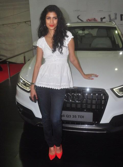 Tena Desae at the 'Autocar Performance Show 2014.