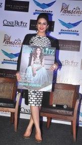 Huma Qureshi at the CineBlitz magazine cover launch at SheeSha Sky Lounge Gold, Juhu.2