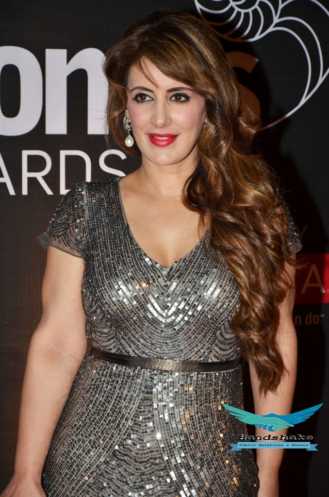 Pria Kataria Puri at the Red Carpet of GoodHomes Awards 2014 at Sofitel,BKC.
