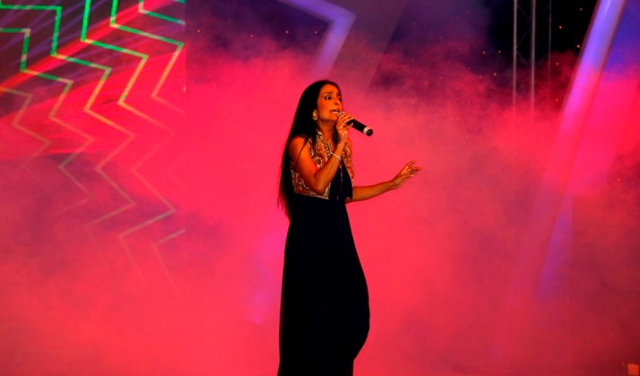 Suchitra Pillai song performance at the GoodHomes Awards 2014 at Sofitel,BKC.1