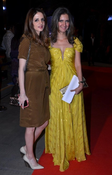 Suzanne Khan & Ronitaa Italia Dhanu (‎Editor, BBC GoodHomes) at the Red Carpet of GoodHomes Awards 2014 at Sofitel,BKC.