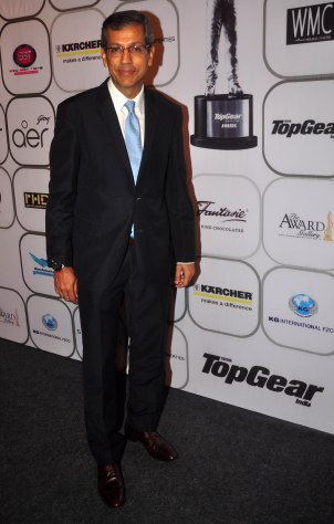 Tarun Rai (CEO, WWM) at the 7th TopGear Awards