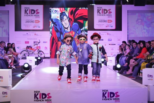 5 Children walk the ramp for Oks Boys on second day of IKFW 2015