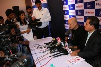 Dr Vasudevan Pilla & Actor Anupam Kher @ Book Launch - EduNation by Dr Pillai_10