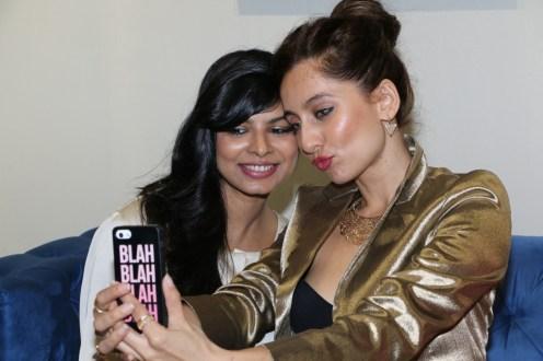 Fashion Selfie - Susan Rajiv Lakshman and Anusha Dandekar