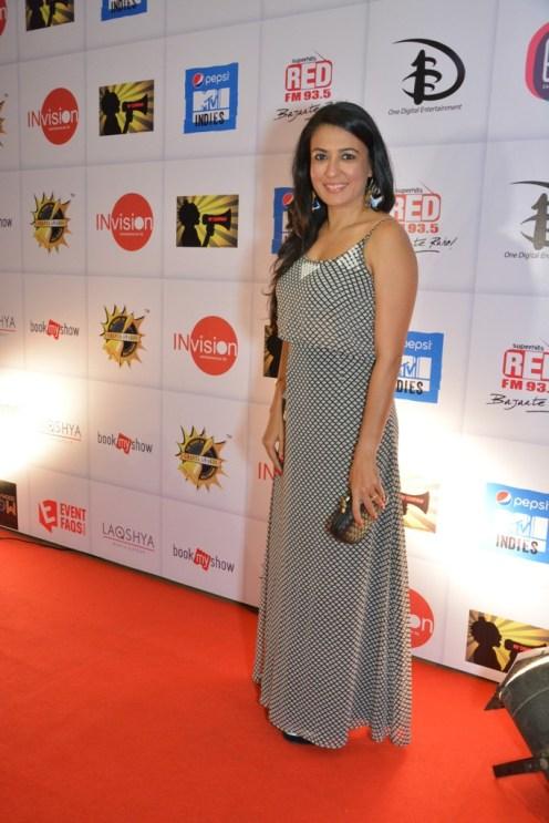 Mini Mathur at Ghanta Awards 2015