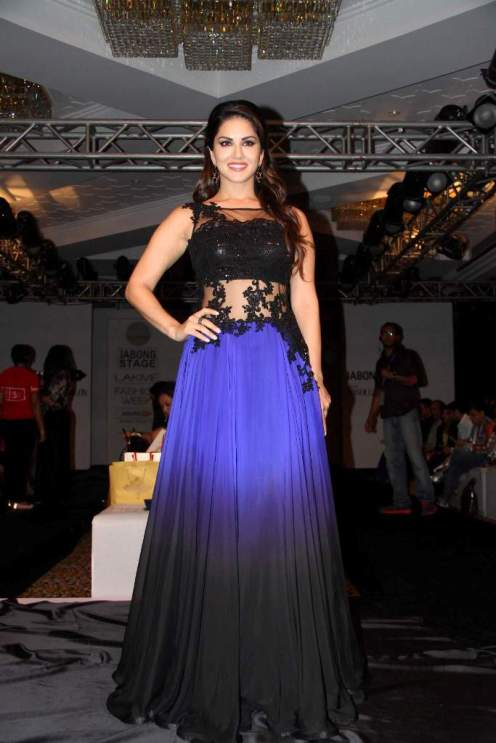 Sunny Leone in Neha Agarwal collection