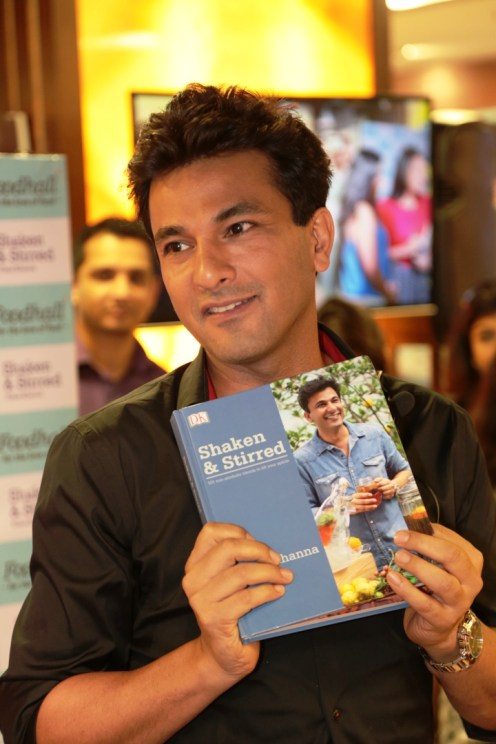 Chef Vikas Khanna with his new book