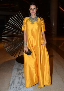 Neha Dhupia at the 'Lonely Planet Travel Awards 2015' at JW Marriot Sahar.1