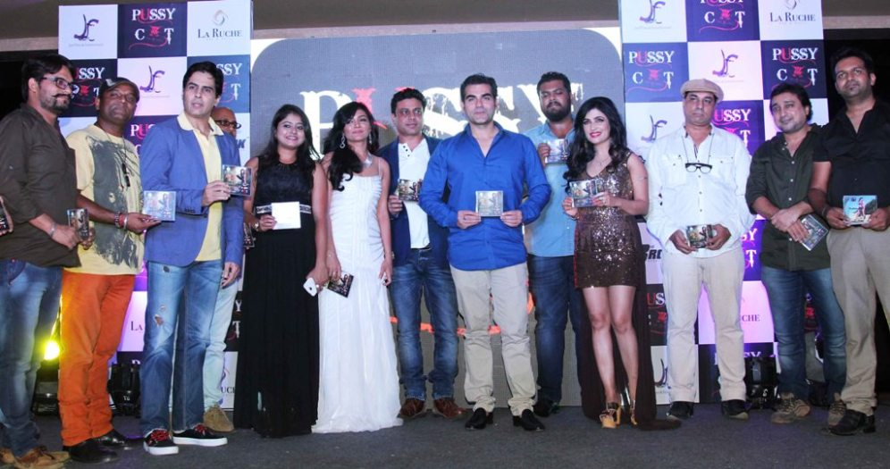 Launch of Jeet Films & Ent's latest Music Video 'PUSSY CAT' by Chief guest Arbaaz Khan at La Ruche, Bandra.